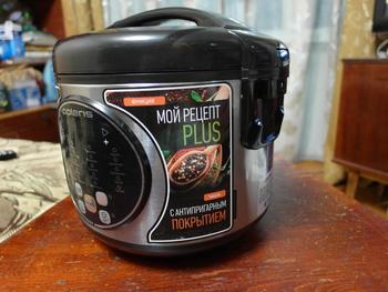 Мультиварка POLARIS PMC 0367AD, 500Вт, черный