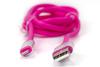 Кабель HARPER Lightning -  USB 2.0,  1.0м,  розовый [sch-530] вид 8