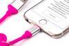 Кабель HARPER Lightning -  USB 2.0,  1.0м,  розовый [sch-530] вид 7