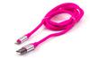 Кабель HARPER Lightning -  USB 2.0,  1.0м,  розовый [sch-530] вид 6