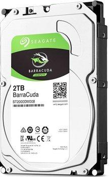 Жесткий диск SEAGATE Barracuda ST2000DM008, 2Тб, HDD, SATA III, 3.5