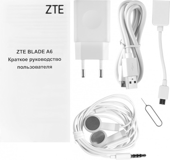 Смартфон ZTE Blade A6, золотистый