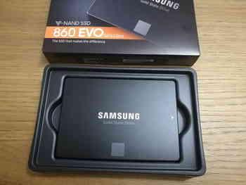 SSD накопитель SAMSUNG 860EVO MZ-76E250BW 250Гб, 2.5, SATA III