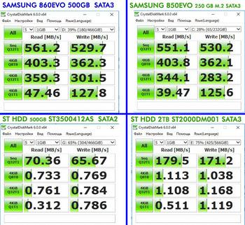 SSD накопитель SAMSUNG 860EVO MZ-76E500BW 500Гб, 2.5, SATA III