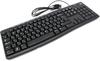 Клавиатура LOGITECH K200,  USB, черный серый [920-008814] вид 11