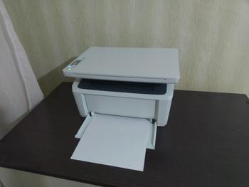 МФУ лазерный HPLaserJet Pro MFP M28w RU, A4, лазерный, белый [w2g55a]