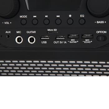Аудиомагнитола SOUNDSTREAM Hooper SH-6P, черный