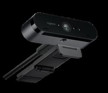 Web-камера LOGITECH Brio Stream Edition, черный [960-001194]