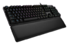 Клавиатура LOGITECH G513 GX Blue Clicky,  USB, c подставкой для запястий, черный [920-008933] вид 16