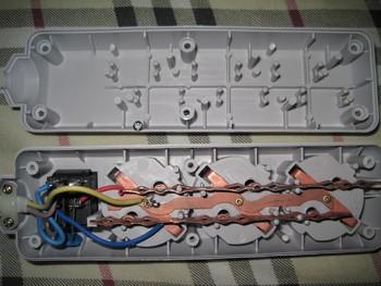 Сетевой фильтр BURO 300SL-1-G, 1м, серый