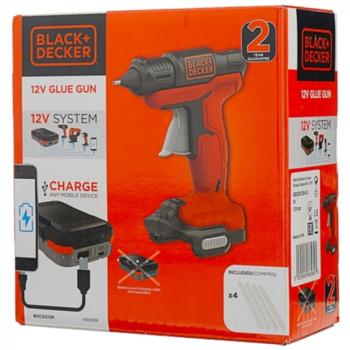 Клеевой пистолет BLACK & DECKER BDCGG12N-XJ