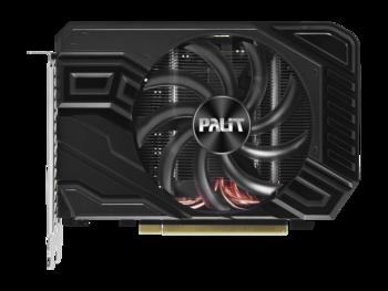 Видеокарта PALIT nVidia GeForce GTX 1660TI , PA-GTX1660Ti STORMX 6G, 6Гб, GDDR6, Ret [ne6166t018j9-161f]