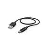 Кабель HAMA USB Type-C (m),  USB A(m),  0.6м,  черный [00178329] вид 2