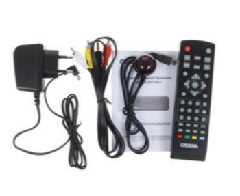 Ресивер DVB-T2CADENA CDT-1811, черный [046/91/00049596]