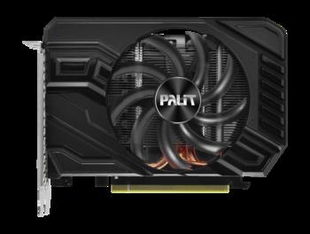Видеокарта PALIT nVidia GeForce GTX 1660 , PA-GTX1660STORMX OC 6G, 6Гб, GDDR5, OC, Ret [ne51660s18j9-165f]