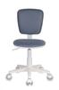 Кресло детское БЮРОКРАТ CH-W204NX, на колесиках, ткань, серый [ch-w204nx/15-48] вид 9