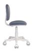 Кресло детское БЮРОКРАТ CH-W204NX, на колесиках, ткань, серый [ch-w204nx/15-48] вид 7