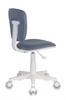 Кресло детское БЮРОКРАТ CH-W204NX, на колесиках, ткань, серый [ch-w204nx/15-48] вид 6