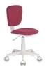 Кресло детское БЮРОКРАТ CH-W204NX, на колесиках, ткань, розовый [ch-w204nx/26-31] вид 7