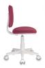 Кресло детское БЮРОКРАТ CH-W204NX, на колесиках, ткань, розовый [ch-w204nx/26-31] вид 6
