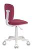 Кресло детское БЮРОКРАТ CH-W204NX, на колесиках, ткань, розовый [ch-w204nx/26-31] вид 5