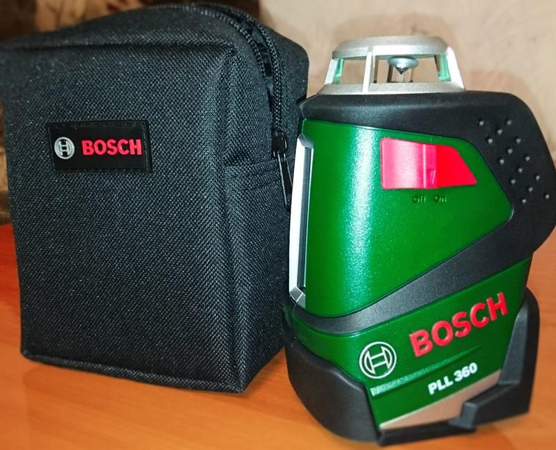 Нивелир Bosch PLL 360 Set 0603663001 + штатив - фото 9