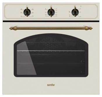 Духовой шкаф SIMFER B6EO15001, бежевый