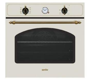 Духовой шкаф SIMFER B6EO79001, бежевый