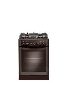 Газовая плита GEFEST 6502-020045, электрическая духовка, коричневый [пгэ 6502-020045]