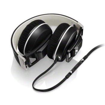 Наушники с микрофоном SENNHEISER URBANITE XLGalaxy, 3.5 мм, мониторы, черный [506455]