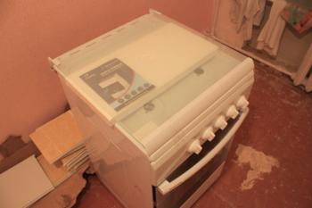 Газовая плита FLAMA FG2406W, газовая духовка, белый