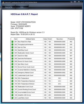 Жесткий диск HGST Travelstar Z7K500HTS725050A7E630, 500Гб, HDD, SATA III, 2.5 [0j26005]