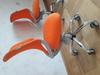 Кресло детское БЮРОКРАТ KD-7, на колесиках, ткань, оранжевый [kd-7/tw-96-1] вид 10