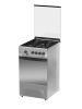 Газовая плита DARINA 1D1 GM 241 014  Х,  газовая духовка,  нержавеющая сталь вид 2