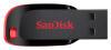Флешка USB SANDISK Cruzer Blade 128Гб, USB2.0, черный и красный [sdcz50-128g-b35] вид 2