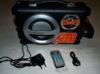 Аудиомагнитола ROLSEN RBM-311,  черный и серебристый вид 9