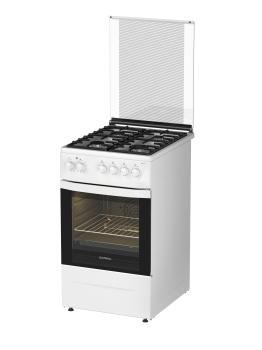 Газовая плита DARINA 1D1KM241 311W, электрическая духовка, белый [дубль использовать 845486]