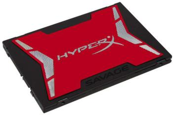 SSD накопитель KINGSTON HyperX Savage SHSS37A/120G 120Гб, 2.5, SATA III