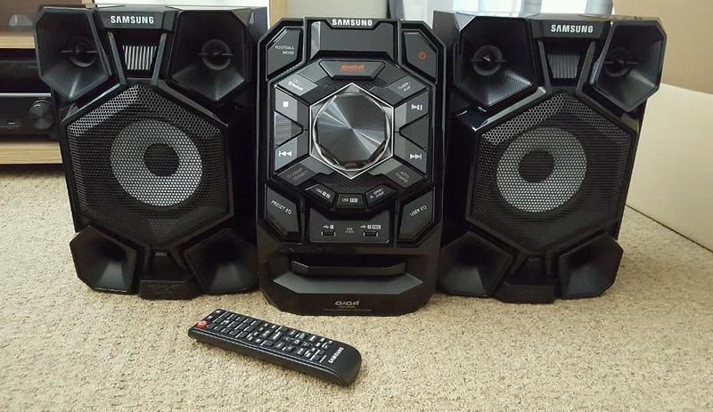 db62820b8bca Купить Музыкальный центр SAMSUNG MX-J630 RU, черный по выгодной цене ...