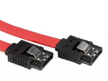 Кабель SATA SATA (прямой)— SATA (прямой), плоский, 0.45м