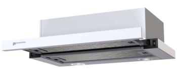 Вытяжка встраиваемая Shindo Maya 601M W/WG PB белый/стекло белое управление: кнопочное (1 мотор)