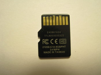 Карта памяти microSDHC LEXAR 8 ГБ, Class 10, LSDMI8GBBBEU300A, 1 шт., переходник SD