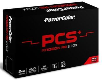 Видеокарта POWERCOLOR AMD Radeon R7370 , AXR7370 2GBD5-PPDHE, 2Гб, GDDR5, Ret