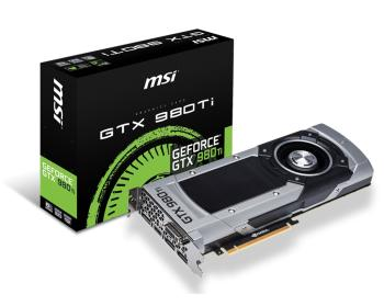 Видеокарта MSI nVidia GeForce GTX 980TI , GTX 980TI 6GD5, 6Гб, GDDR5, Ret