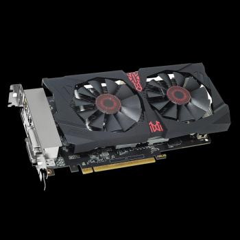 Видеокарта ASUS AMD Radeon R7 370 , STRIX-R7370-DC2OC-2GD5-GAMING, 2Гб, GDDR5, OC, Ret