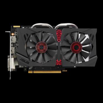Видеокарта ASUS AMD Radeon R7 370 , STRIX-R7370-DC2OC-4GD5-GAMING, 4Гб, GDDR5, OC, Ret