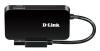 Хаб (разветвитель) D-LINK DUB-1341/A1A, черный вид 3