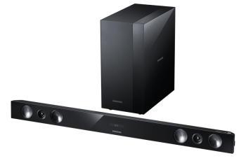 Звуковая панель Samsung HW-H430/RU 2.1160Вт+120Вт черный