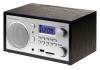 Радиобудильник ROLSEN RFM-300, синяя подсветка,  венге вид 2