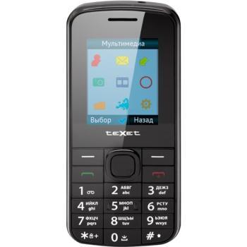 Мобильный телефон TEXET TM-103, черный